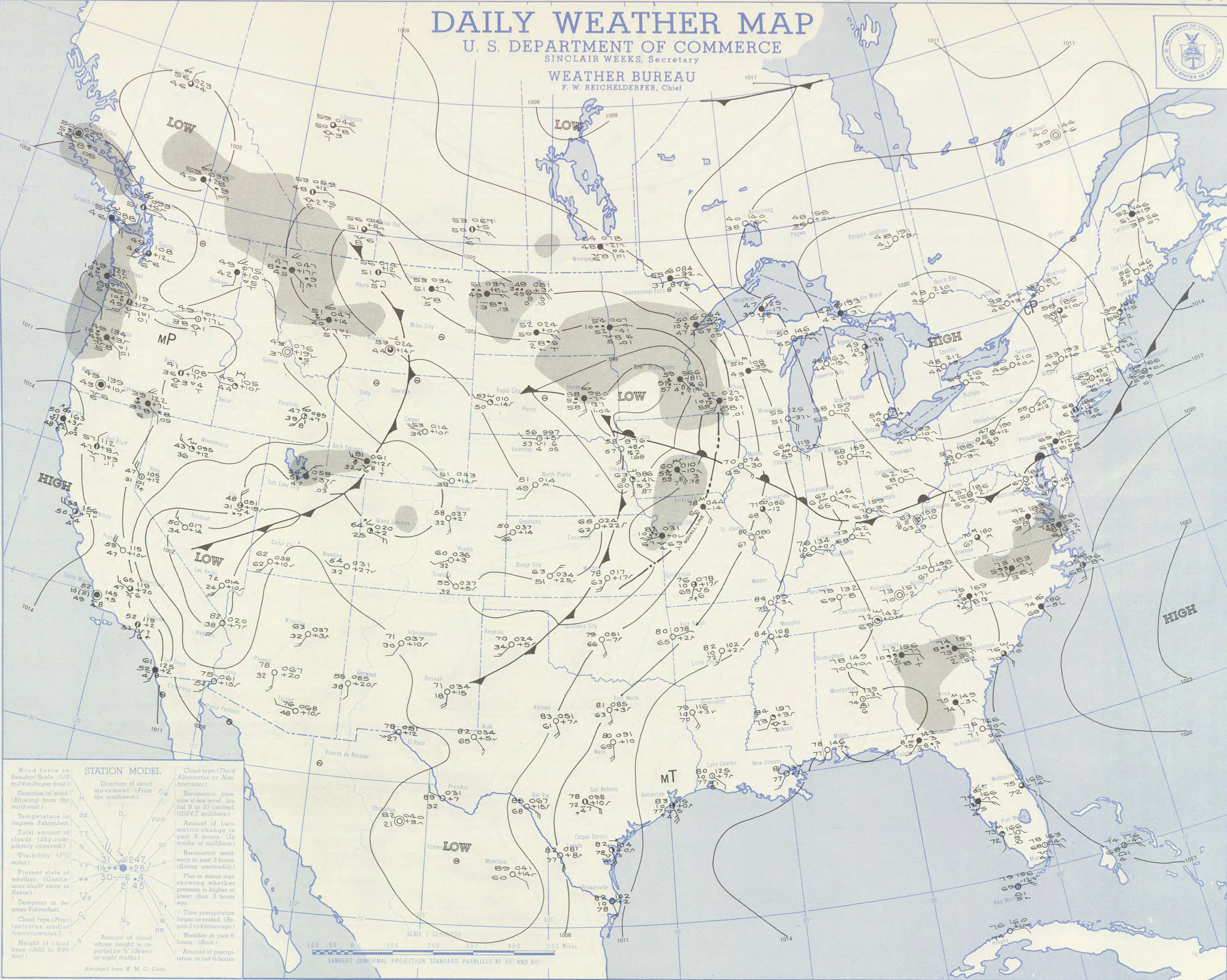 June    The Flint  Worcester Outbreak Stormstalker - Us weather bureau maps